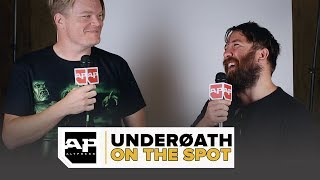 UNDERØATH On Who Sang the