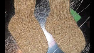 Носки классические - 1 часть - Knitting socks spokes - вязание спицами(Мастерская Лилии Улановой - подробные мастер-классы создания красивых, оригинальных и качественных моделе..., 2014-05-31T09:06:38.000Z)