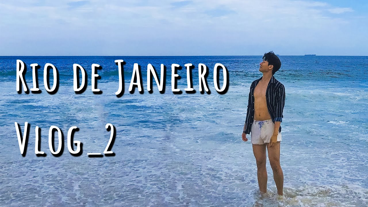 COREANO NO RIO Vlog 2. PRIMEIRA VEZ NO RIO DE JANEIRO VLOG [ Ola JongLee ]