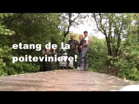 Karpervissen van Asperen naar Frankrijk Etang de la Poiteviniere