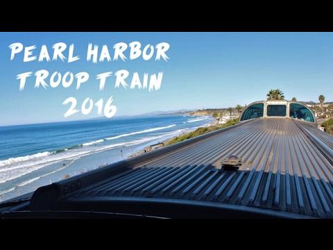 2016 Pearl Harbor troop train! [HD]