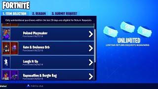 How To Unlock UNLIMITED REFUNDS In Fortnite Battle Royale
