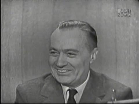 What's My Line?  Charles Boyer; Martin Gabel panel Nov 9, 1958