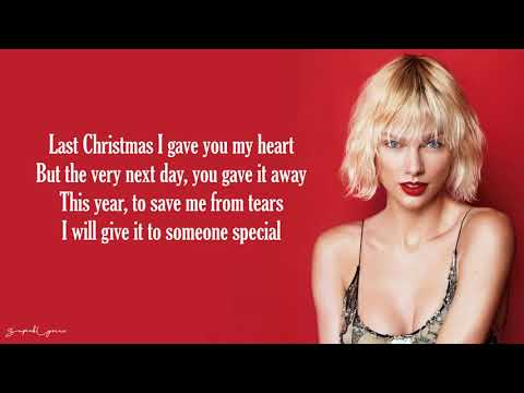 Last Christmas - Taylor Swift