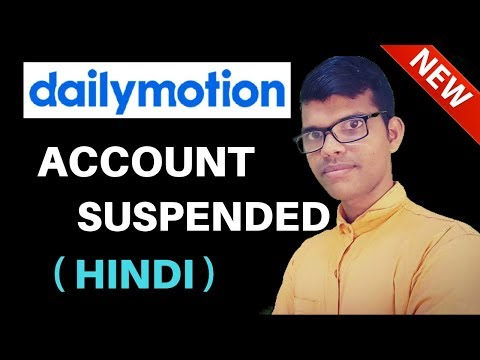 dailymotion account suspended | get help to recover your dailymotion account
