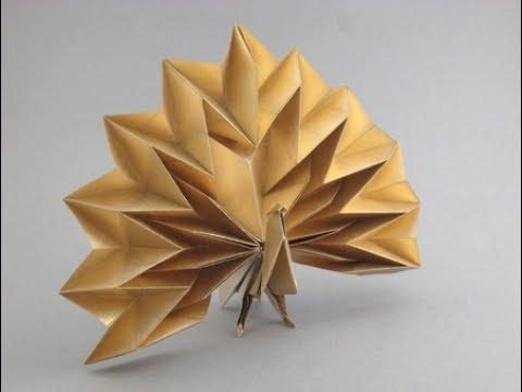 Origami Peacock By Jun Maekawa