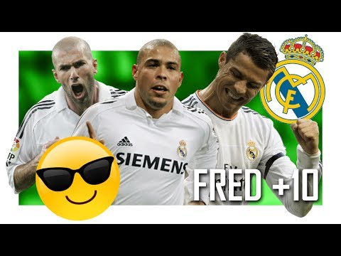 TOP 10 GOLAÇOS DO REAL MADRID