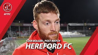 Video Cian Bolger on Hereford win | Post Match download MP3, 3GP, MP4, WEBM, AVI, FLV April 2018