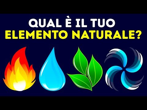 Qual è il Tuo Elemento Naturale? Scopri la Tua Personalità