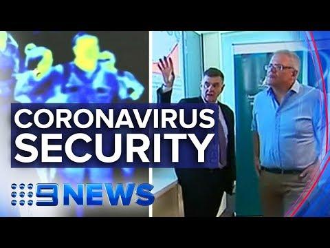 Australia ramps up biosecurity as coronavirus spreads   Nine News Australia
