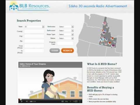 HUD Homes - Idaho Radio Commercial - 30 seconds