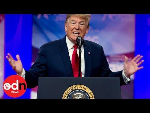 President Trump mocks climate change plans
