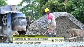 Con nuevo CAI fortalecerán seguridad en vereda La Playa de Rionegro