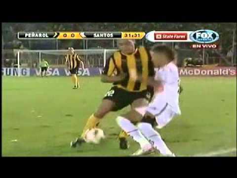 Neymar Vs Penarol ( Copa libertadores Final 1st Leg )