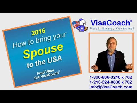 2016 CR1 Visa: How To Bring Foreign Spouse to USA? Gen42