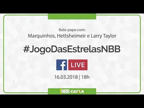 #JogoDasEstrelasNBB | Bate-papo das Estrelas Marquinhos, Hettsheimeir e Larry Taylor | 16.03.2018