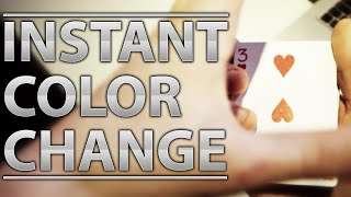 Instant Visual Color Change Tutorial (Cardini) thumbnail