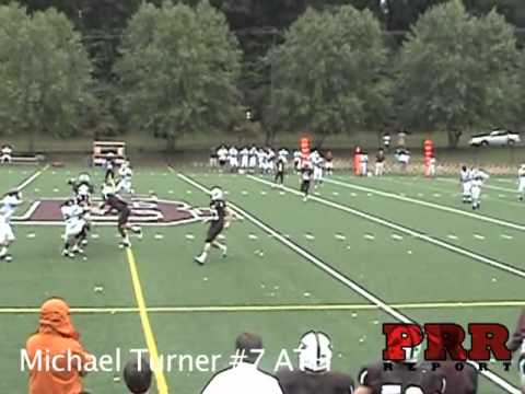 Michael Turner #7 Boys Latin Football Highlights 2010
