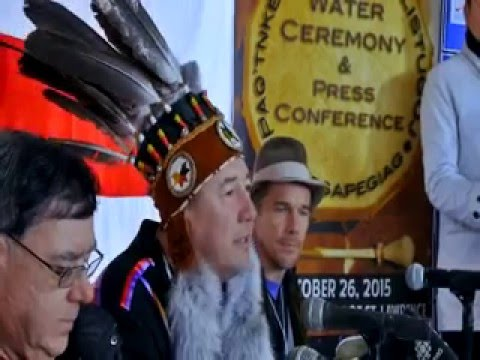 Ethan Hawke Special Guest at Water Ceremony to Protect the Gulf of St. Lawrence