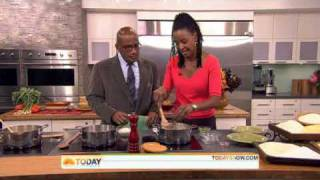 B. Smith Cooks Grits