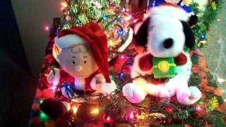 Merry Christmas Snoopy Decoration