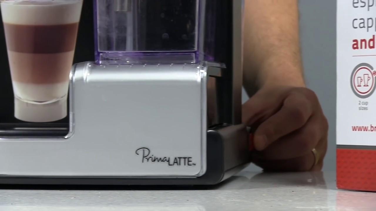 Espressor Breville Prima Latte - YouTube