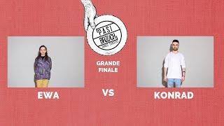 Ewa vs Konrad GRANDE FINALE RAP vs ELECTRONIC | PASIBRZUCH 2019