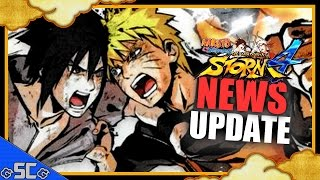 ●Mini News/Update - Naruto/Sasuke Boss Battle,Jump Festa 2016 Demo,Limited Edtion | NARUTO STORM 4 ●