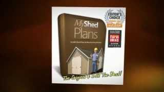 My Shed Plans Discount: Buy For $27.00!