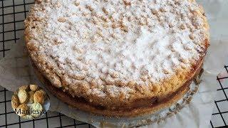 Итальянский яблочный пирог из крошки легко и просто!/Apple Cake