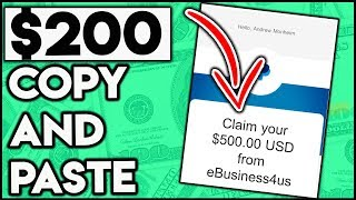 Make $100 - $200 A Day With This Copy And Paste System (Google Money)