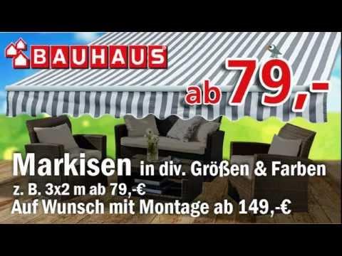Ledvert Spot Bauhaus Darmstadt Markisen Youtube