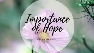 Importance of Hope