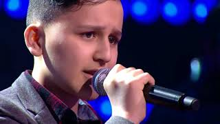 """Gambar cover Abu - """"My Heart Will Go On"""" The Voice Kids Belgium 2017 Blind Auditions"""
