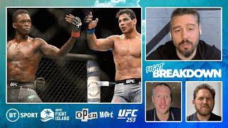 UFC 253: Adesanya v Costa full fight breakdown   Open Mat with Dan Hardy