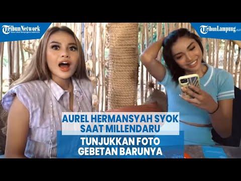 Aurel Hermansyah Syok