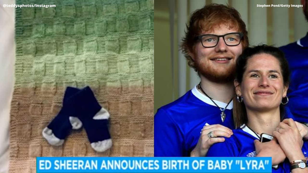 Ed Sheeran welcomes 1st baby with wife Cherry Seaborn