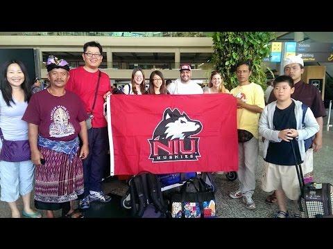 NIU Study Abroad in Bali