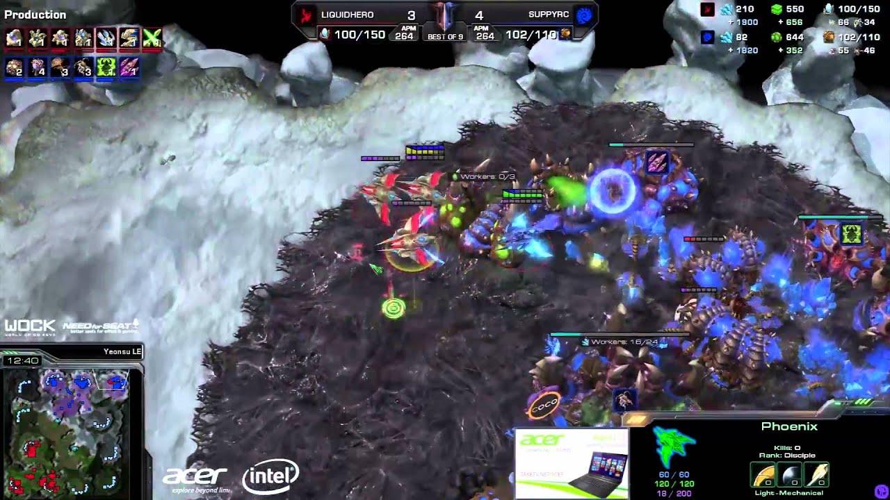 HerO vs. Suppy (ATC) - EG vs. TL - Game 8 - StarCraft 2