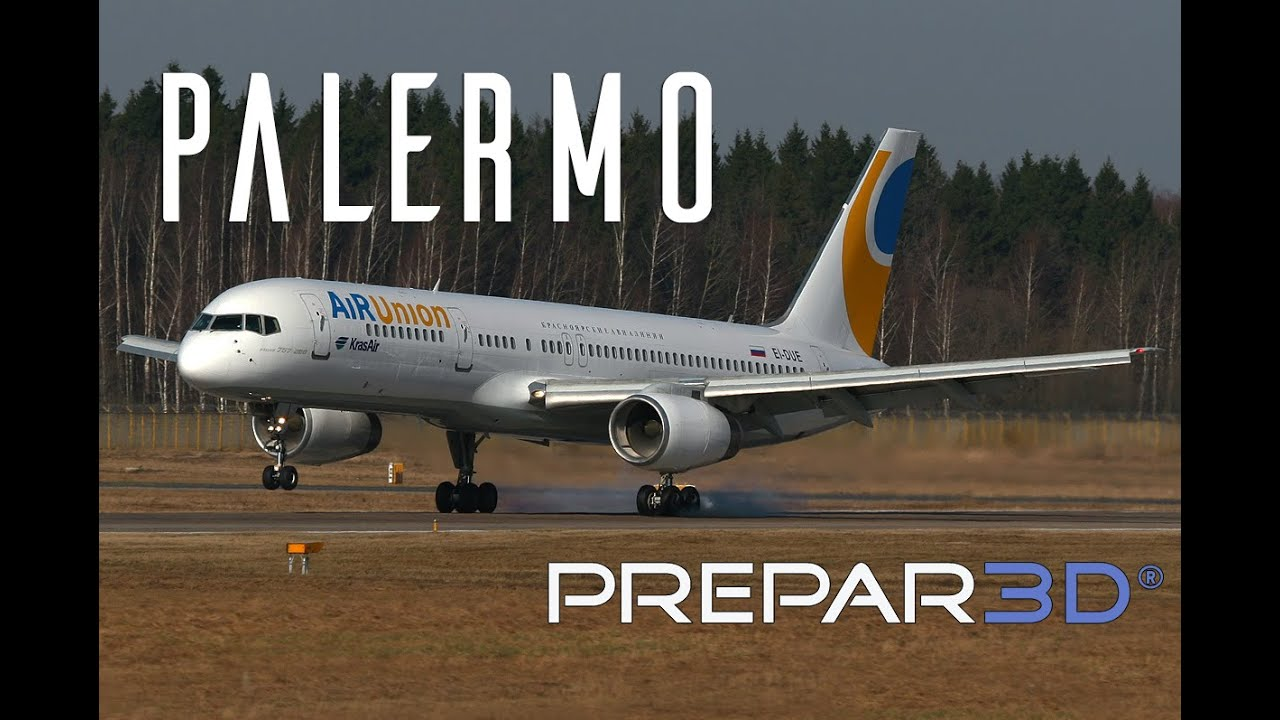 prepar3d captain sim boeing 757 landing at palermo trackir rh youtube com manual 7975g manual bn59-00997a