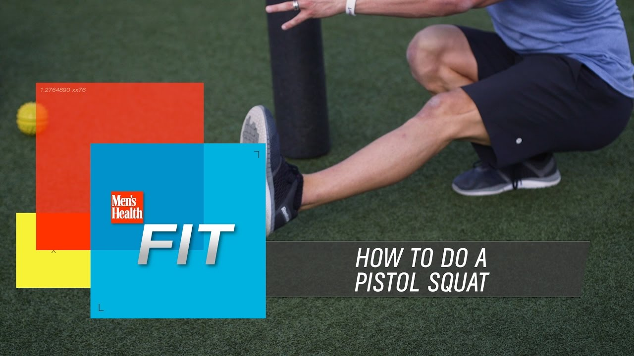 Pistol Squat Tutorial Created by Men's Health