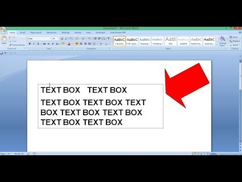 How to Remove Text Box Outline - MS Word