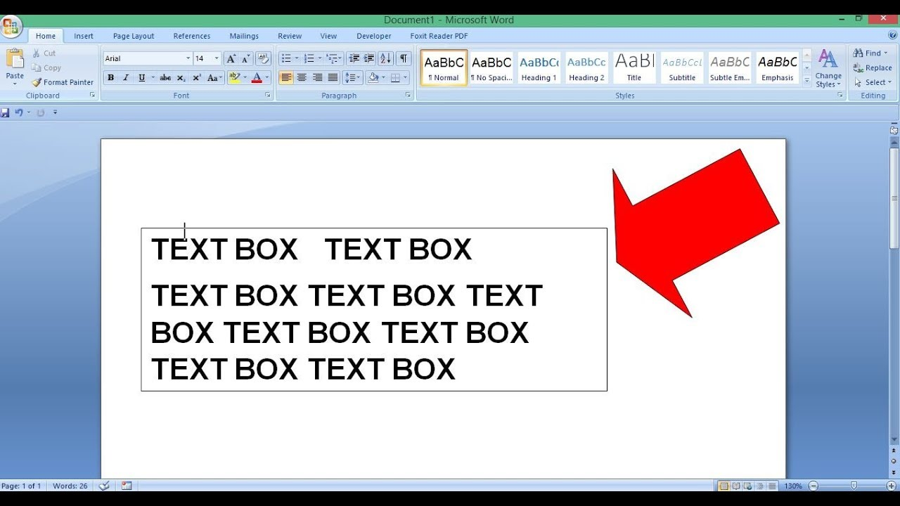 How to Remove Text Box Outline - MS Word - YouTube