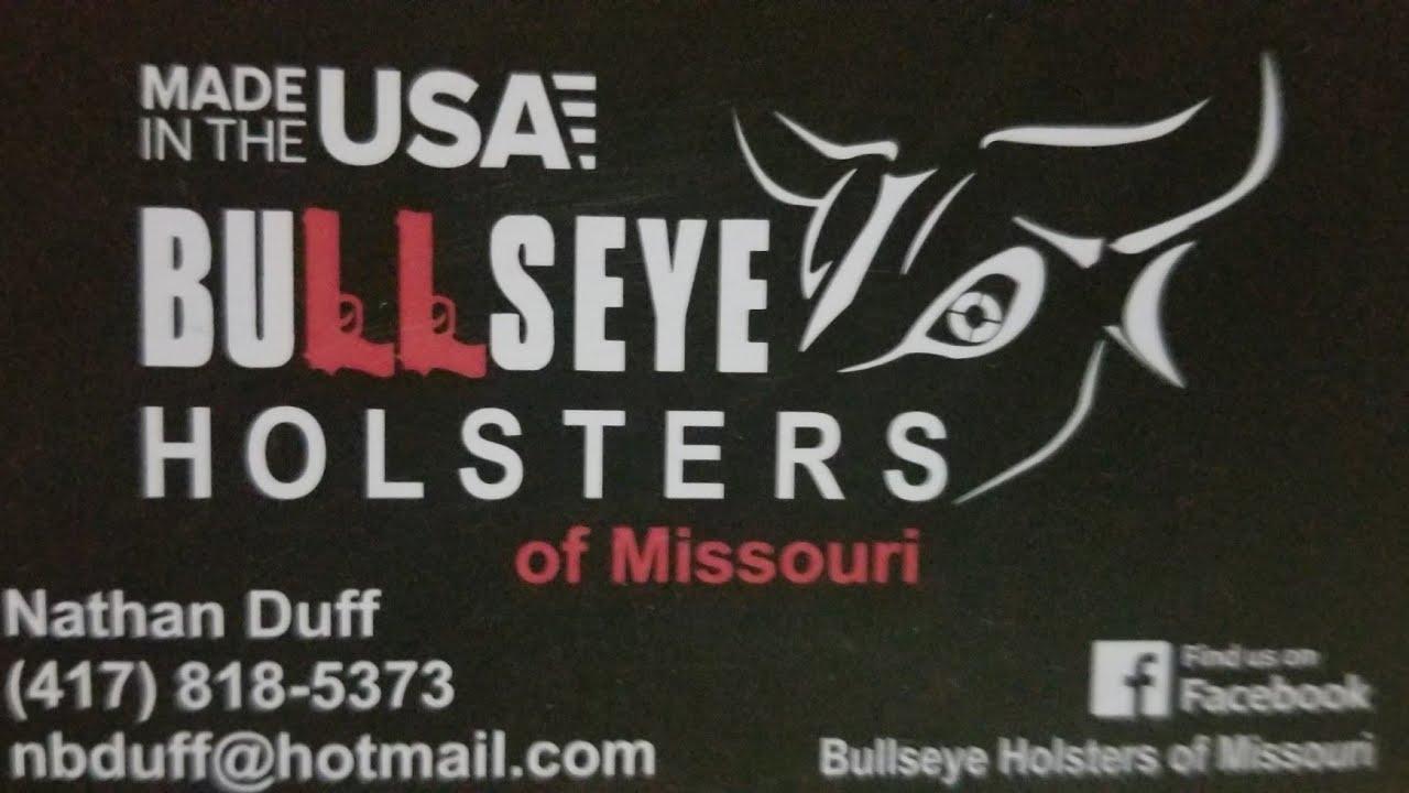BULLSEYE HOLSTERS MADE IN AMERICA