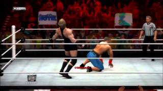 WWE SVR 2012 GAMEPLAY