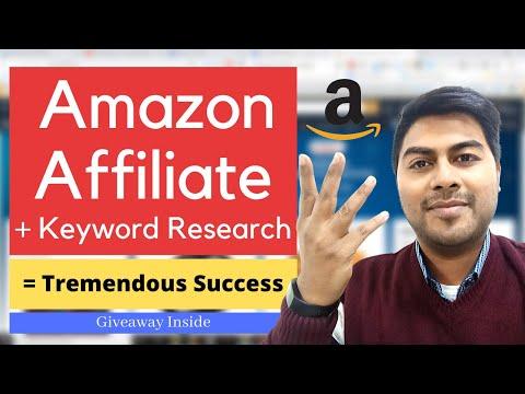 Amazon Affiliate Marketing with Proper Keyword Research - Digital Marketing - Roy Digital thumbnail