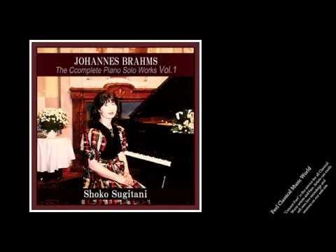 Shoko Sugitani plays Brahms: Piano Sonata No.1 in C, Op.1