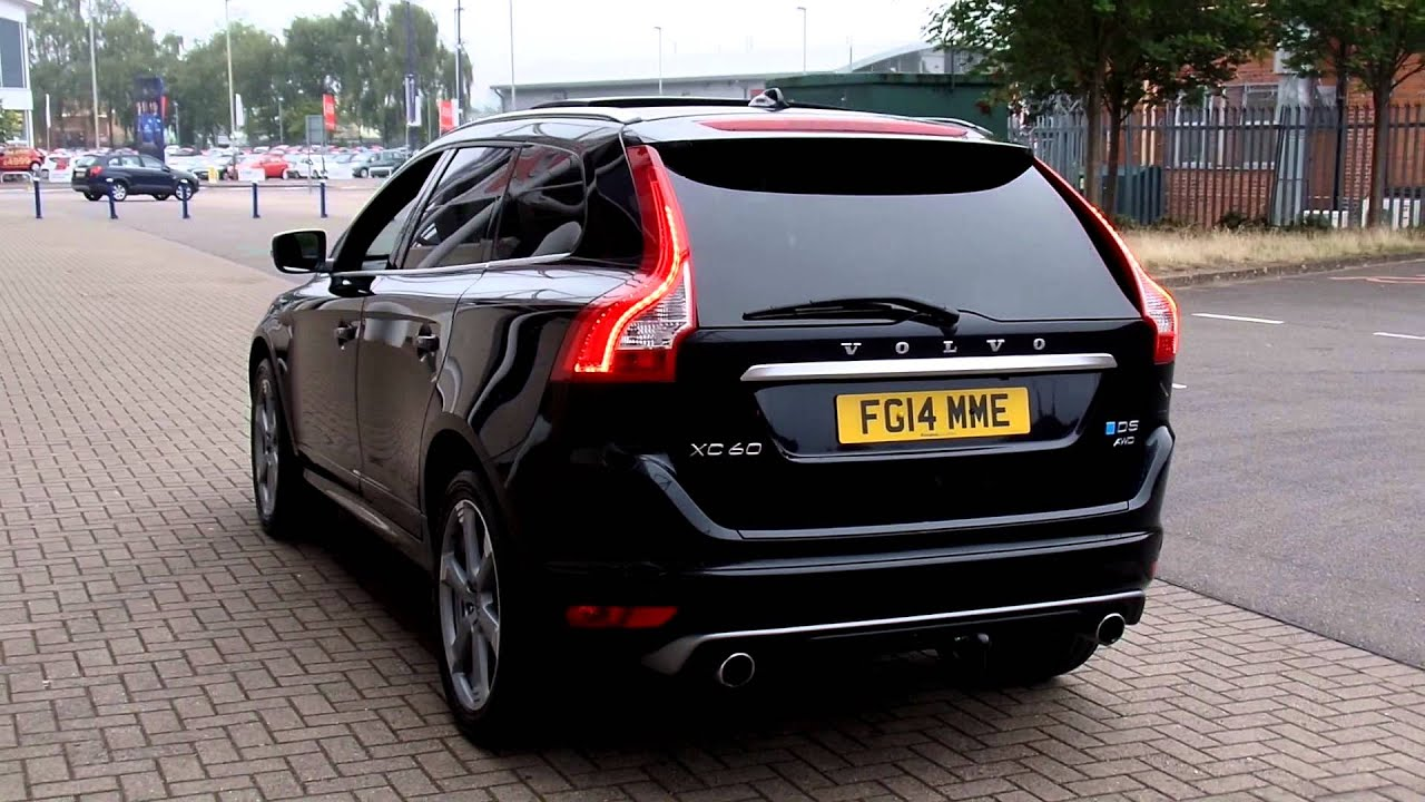 Used Volvo XC60 D5 R-Design Lux Nav Geartronic FG14MME - YouTube