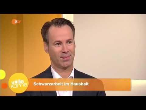 Haushaltshilfe legal beschäftigen - Rechtsanwalt Burgmer bei ZDF Volle Kanne am 05.08.2016