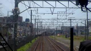 先頭展望 品鶴線(東海道本線)品川―横浜 E217系